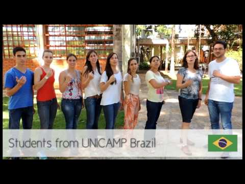 Students from Unicamp Brazil