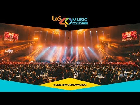 Así fue el espectacular comienzo de LOS40 Music Awards 2017