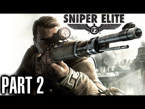 Sniper Elite V2 Walkthrough Part 2 Schoneberg Streets - Gameplay & Live Commentary