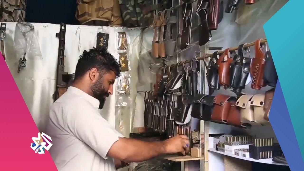 قناة العربي:العربي اليوم│باب موسى التاريخي في اليمن يتحول إلى سوق لبيع الأسلحة