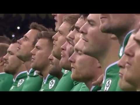RWC 2015 Anthems - Ireland vs Argentina [Quarter Final]