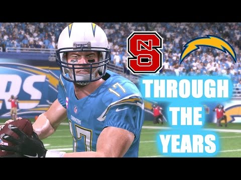 Philip Rivers Through the Years - NCAA Football 01 - Madden 17