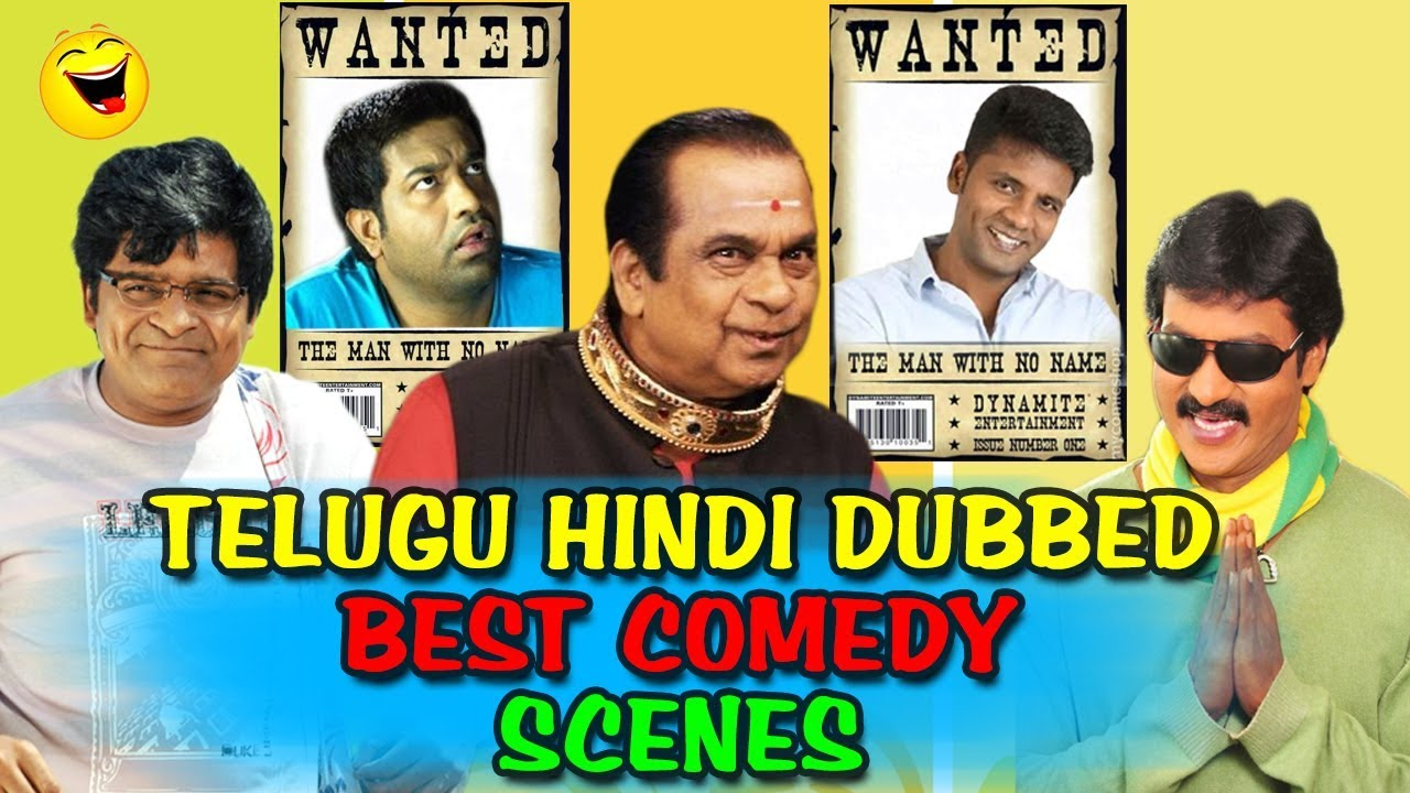 Telugu Hindi Dubbed Best Comedy Scenes South Indian Hindi Dubbed Best Comedy Scenes