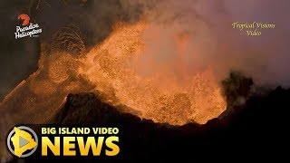 Hawaii Volcano Eruption Update - Sunday Morning (June 24, 2018)