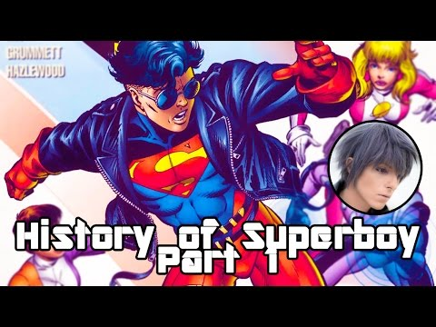 History of Superboy - Part 1 - Beginnings and The 90s