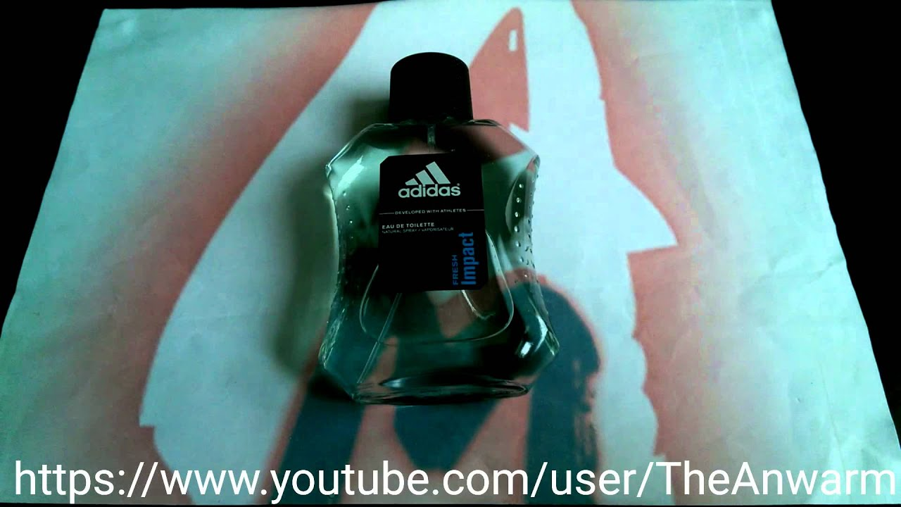 separation shoes 49539 be357 Adidas Fresh Impact Mens Fragrance EDT (Review)