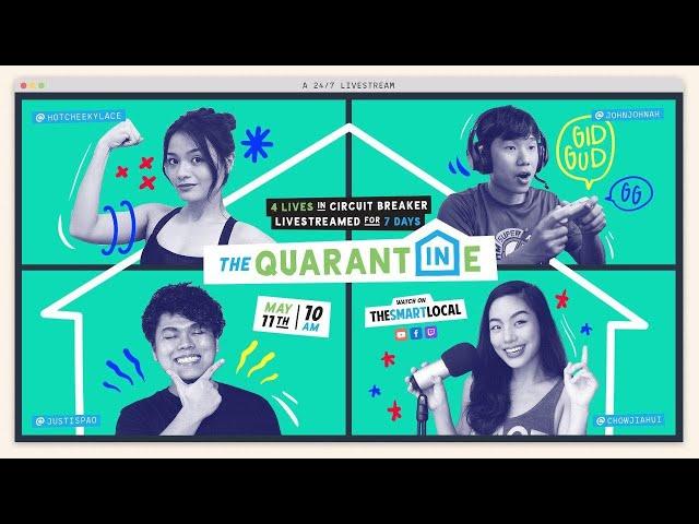 The Quarantine: A 24/7 Live Stream [Trailer]