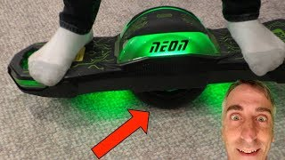 Neon Nitro 8 UNBOXING, The One Wheeled Electric Board/Scooter!