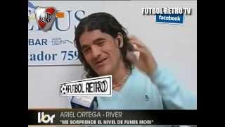 Ariel Ortega River Plate 2009 Nota en Libero PARTE 2