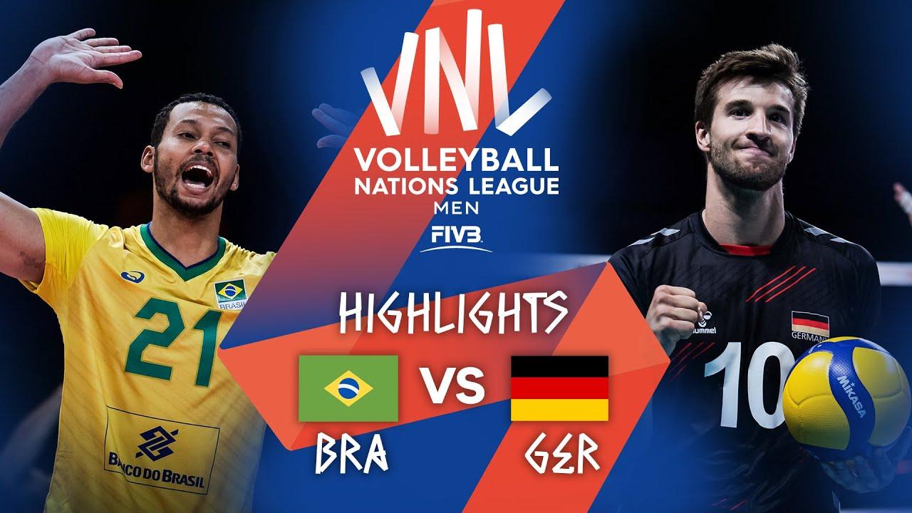 Download BRA vs. GER - Highlights Week 5 | Men's VNL 2021