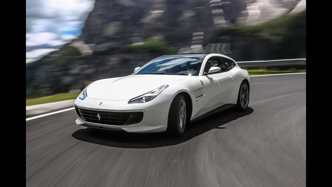 car news 2017 ferrari gtc4 lusso t unveiled with turbocharged v8 youtube. Black Bedroom Furniture Sets. Home Design Ideas