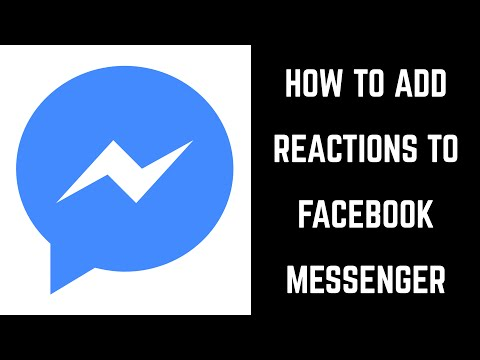 How To Add Reactions To Facebook Messenger App