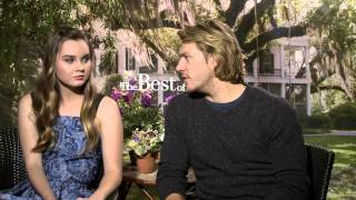 The Best of Me: Luke Bracey & Liana Liberato Official Movie Interview