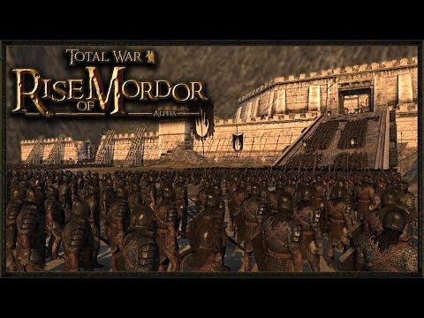 Siege Of Helms Deep! - Total War: Rise Of Mordor Gameplay