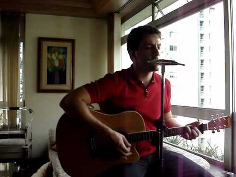 The Scientist - Coldplay - Harmonica and Guitar + lyrics (karaoke)