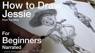 How to Draw Jessie from Toy Story