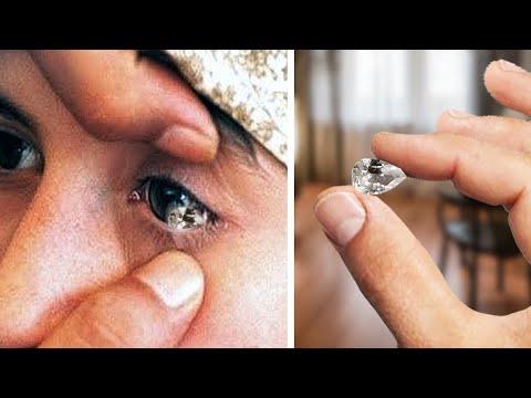 Ragazza Piange Diamanti Puri, Sarai Scioccato Di Sapere Perché