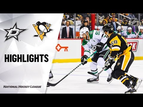 Stars @ Penguins 10/18/19 Highlights