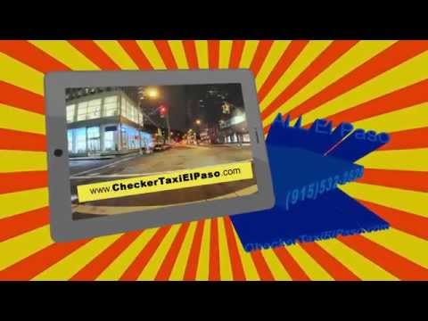 taxi El Paso tx (915)532-2626 Checker Taxi Cab services