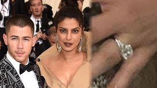 Priyanka Chopra Flashes MASSIVE Engagement Ring from Nick Jonas