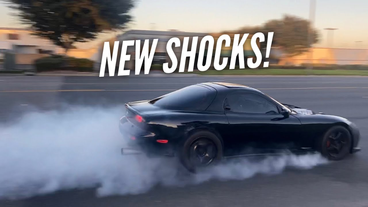 3 Rotor RX-7 Suspension upgrade.  Does it help launching on the street?