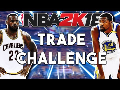 TRADING THE ENTIRE TEAM! NBA 2k18 Challenge! 0 Trade Difficulty!