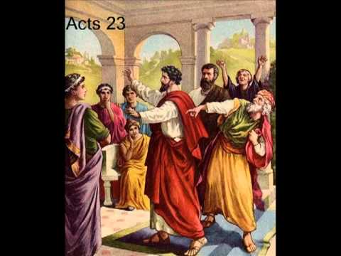 Image result for paul before the sanhedrin