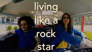 Living like a Rock Star (Lyric Video) | Yellow Boulevard