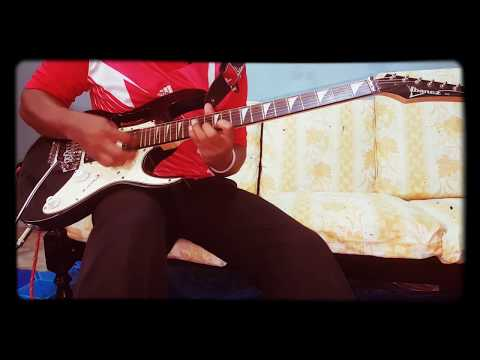 Happy Happy Saja Tia Jinbara Cover Guitar Solo By PewarisT_GuitarisT