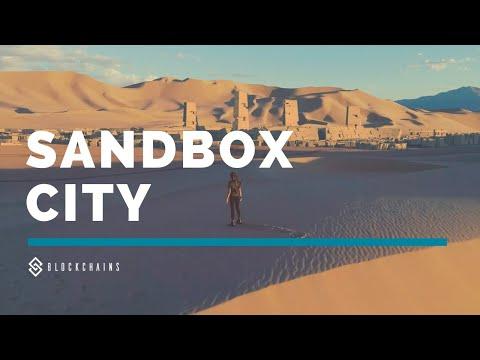 """Un millionnaire américain veut construire la première """"crypto-ville"""" au milieu du désert"""