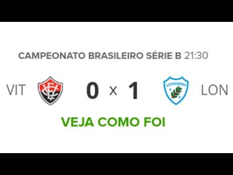 Vitória 0 x 1 Londrina - Melhores Momentos - Série B - 18/10/2019 | Futebol