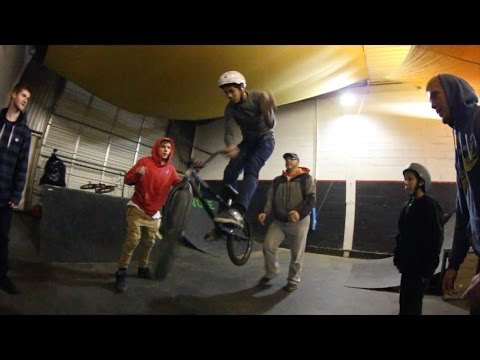 First Hop Barspins!! BMX
