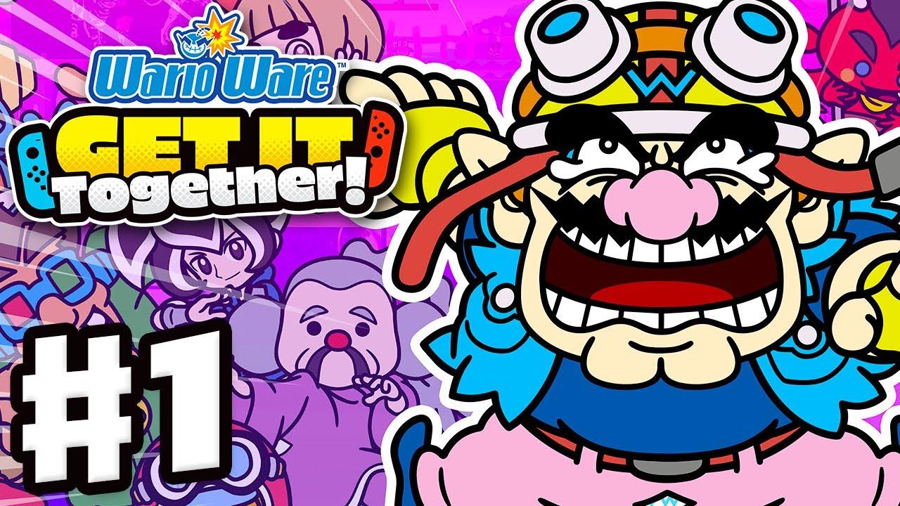 WarioWare: Get It Together! - Gameplay Walkthrough Part 1 - Story Mode (Nintendo Switch)