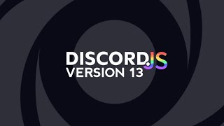 How to use Discord.js v13 on replit website.