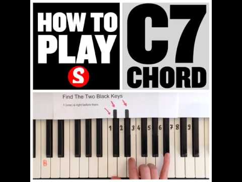 Vote No on : How To Play a C7 Chord On Piano