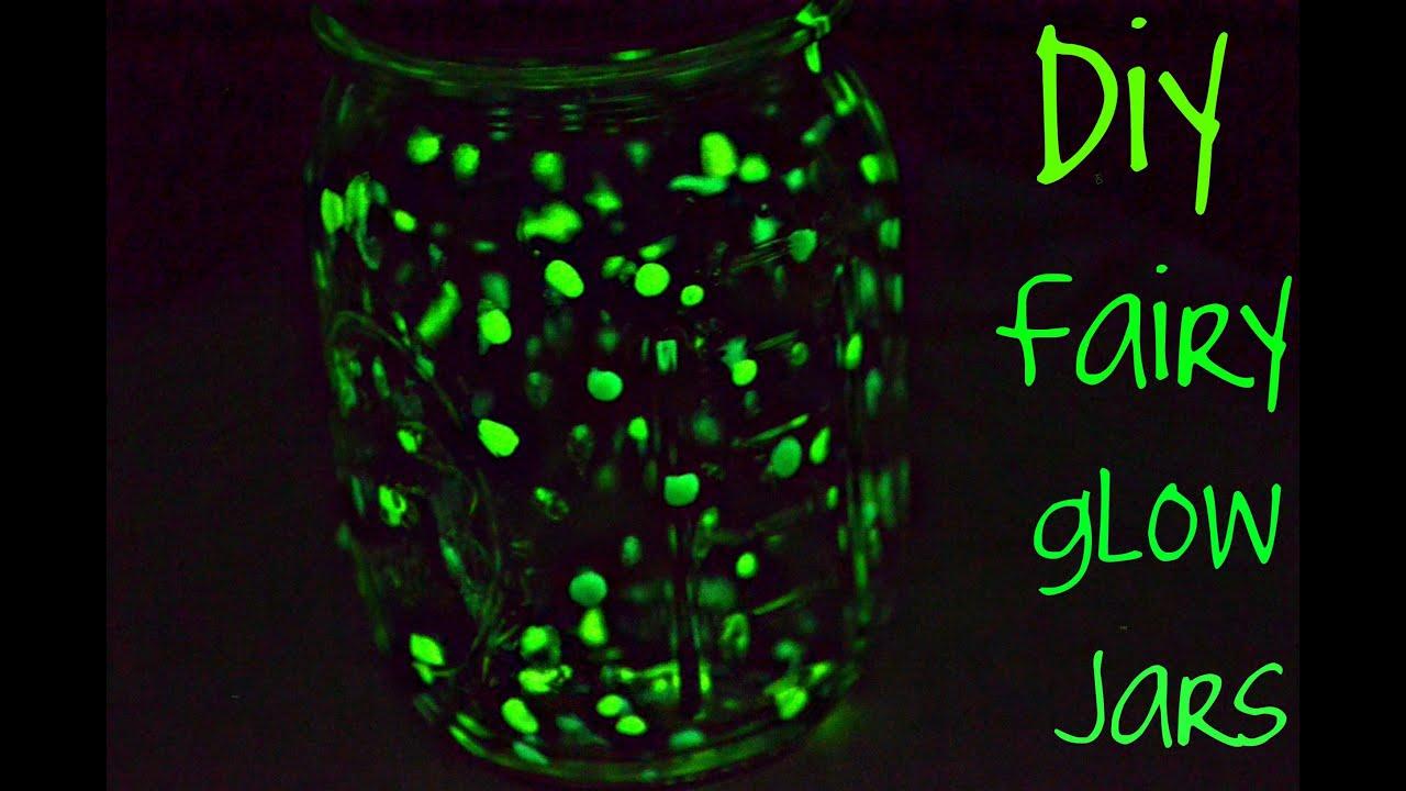 DIY fairy glow jars - YouTube