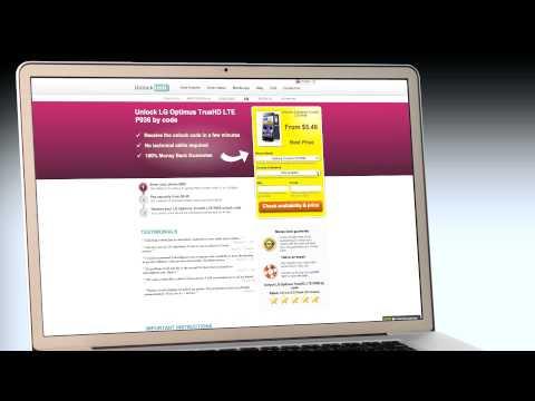 UNLOCK LG Optimus TrueHD LTE P936 - HOW TO UNLOCK YOUR LG Optimus TrueHD LTE P936