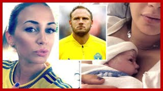 Andreas Granqvist wife: Sweden captain and spouse Sofie 'finally' welcome 'World Cup baby'
