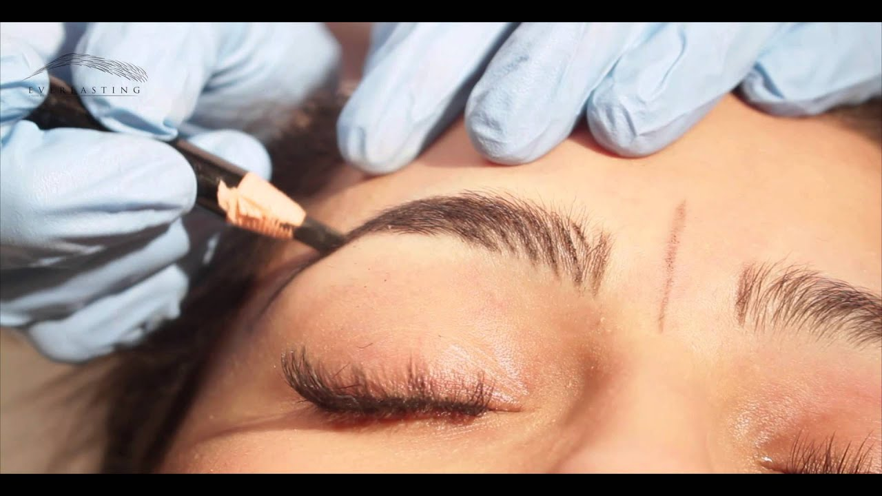 Microblading Method By Everlasting Brows Youtube