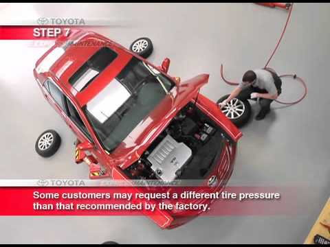 Toyota Express Maintenance Service Process