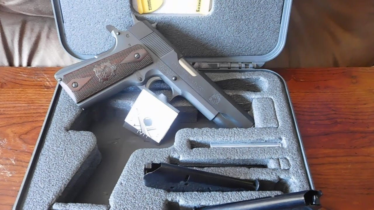 Springfield 1911 Mil-Spec With