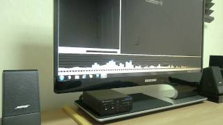 bose m2 & dacmagic 100 sound test.AVI