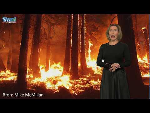 Grootste bosbrand ooit in Californie