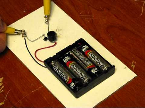 Extremely Simple Electronic Trip Wire Instructables Youtube