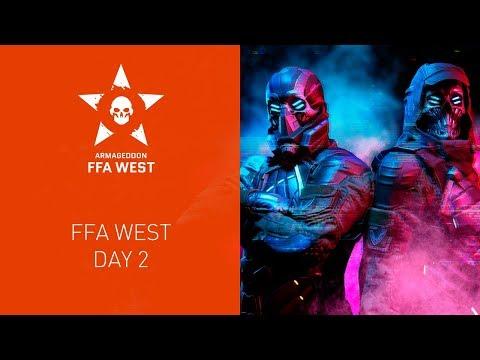 Warface Armageddon: FFA West. Day 2