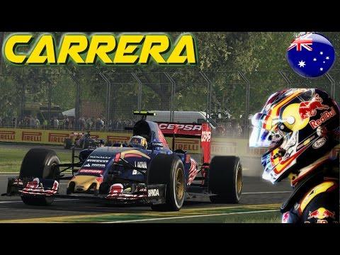 CARRERA GRAN PREMIO DE AUSTRALIA | GAMEPLAY F1 2015