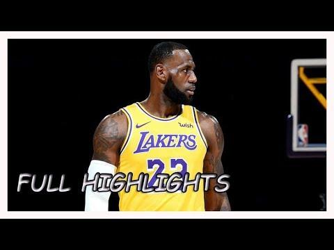 Los Angeles Lakers vs Denver Nuggets Full Game Highlights | Sept 30, 2018 |   NBA Preseason