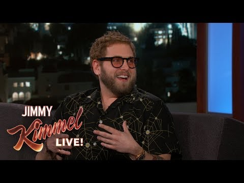 Jonah Hill Surprised  at Jonah Hill Day