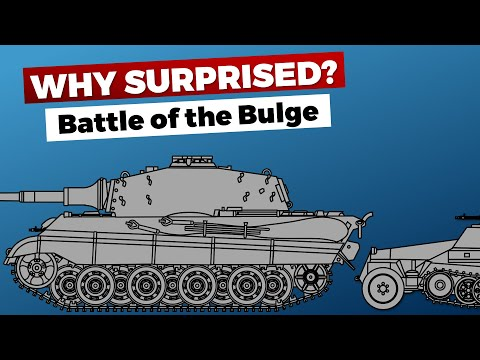 Battle of the Bulge: Why were the Allies surprised?