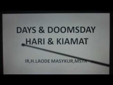 DAYS & DOOMSDAY 2012  BUT THE GOD WILL BE CANCEL DOOMSDAY IF HUMAN COME BACK TO GOD RELIGION